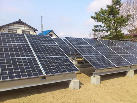 愛和太陽光発電基地完成!