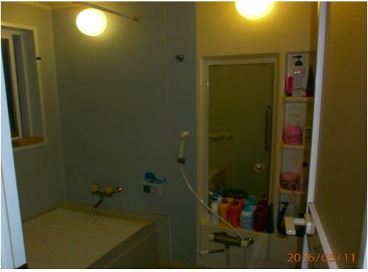 あたたかい浴室完成