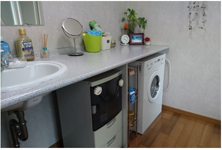 洗濯機とリフォーム