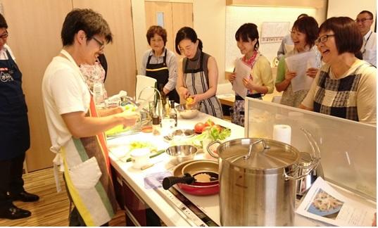 プロから学ぶイタリアン料理教室