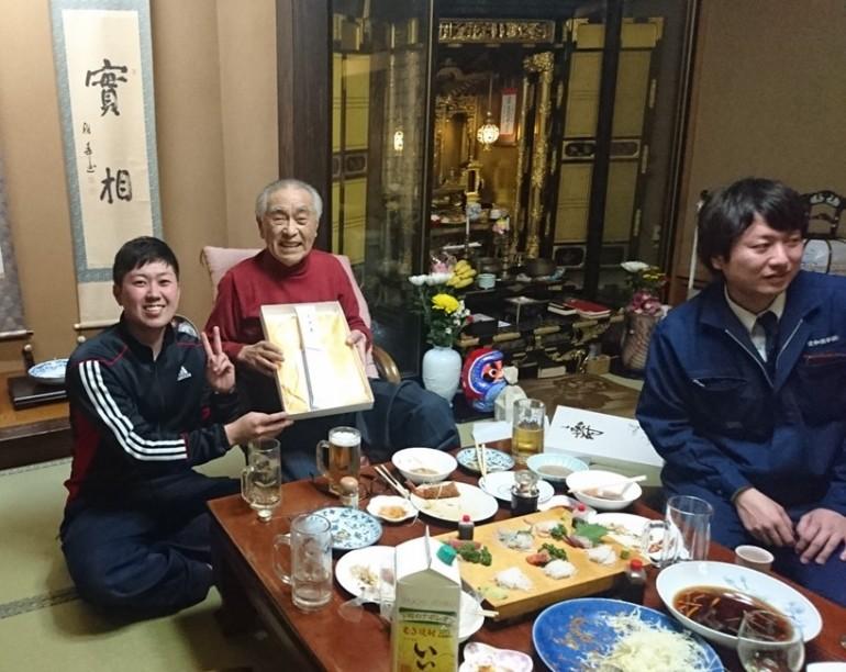 2017米寿のお祝い(続き)
