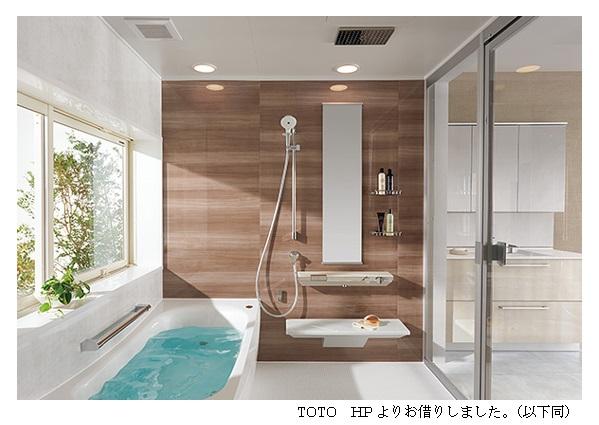 天井シャワー体験