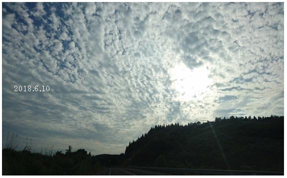 雲を見ていると