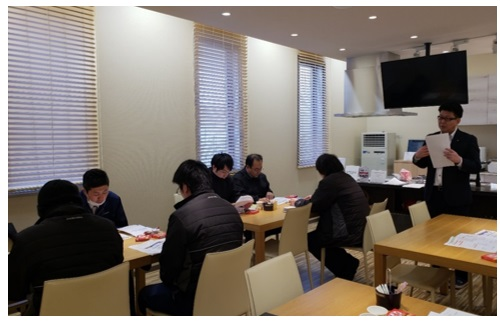 商品勉強会と飲み会~2月編~