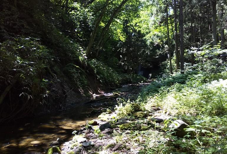 男鹿の大滝